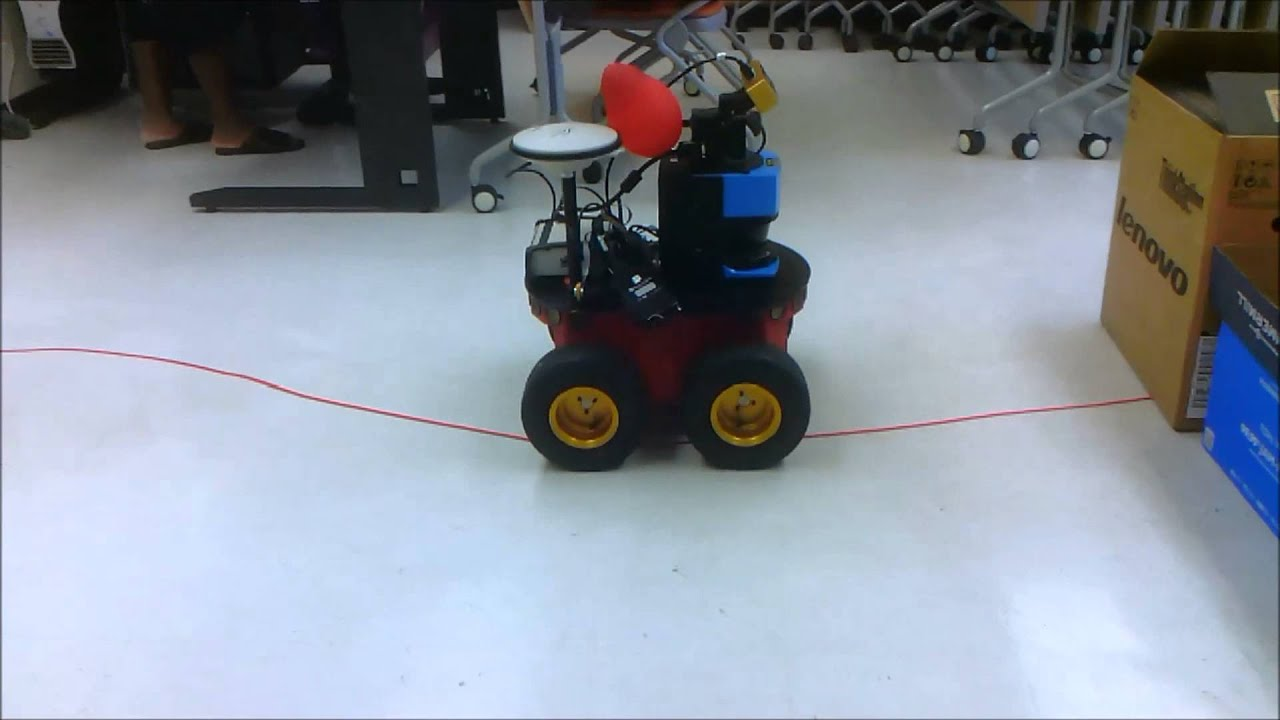thesis on line follower robot