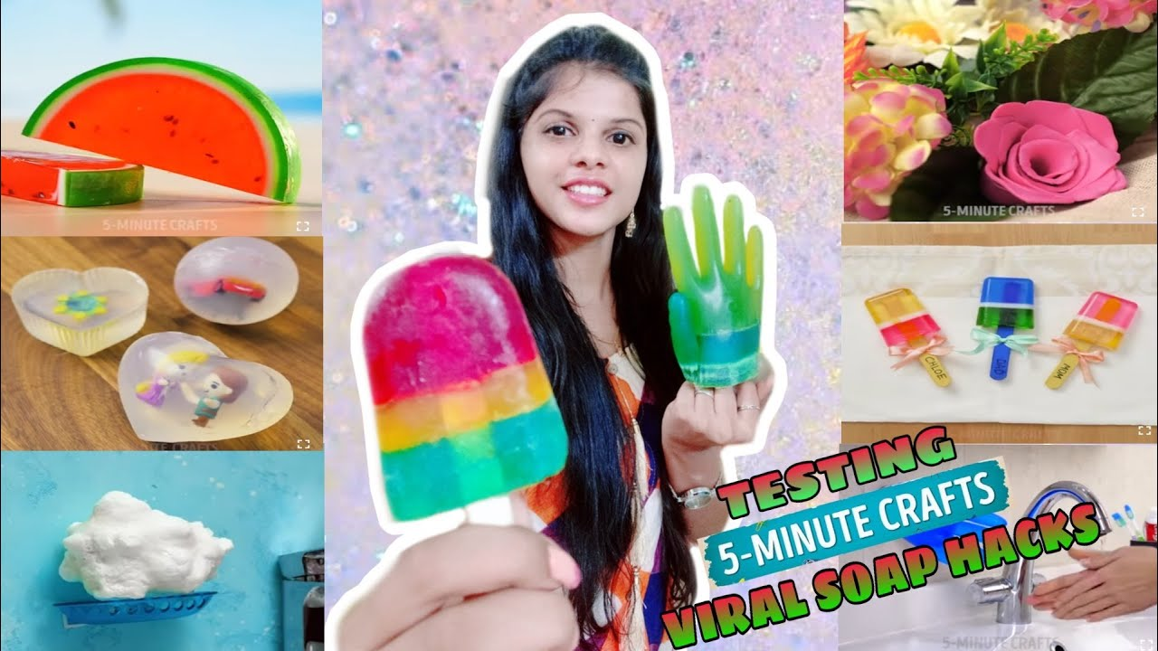 TESTING OUT VIRAL SOAP HACKS by 5 minute crafts [TAMIL]