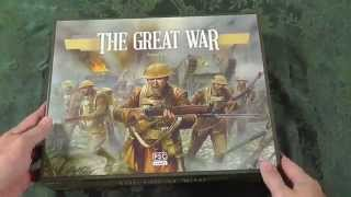 Un-Boxing PSC The Great War WW1 By Richard Borg Bonding With Board Games