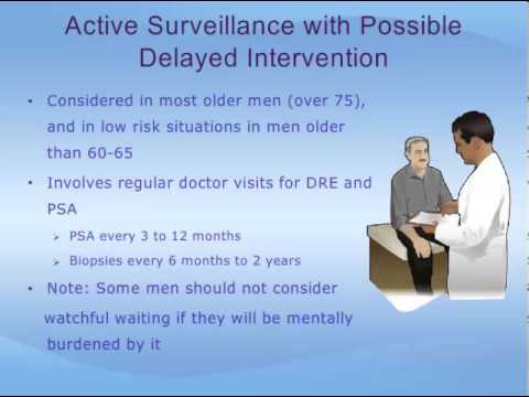 Localized Prostate Cancer - Making a Treatment Decision