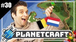 NEDERLAND EN BELGIE ZIJN GECLAIMED! - PlanetCraft #30 | Minecraft Mega Survival
