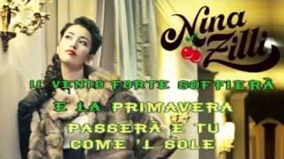 Nina Zilli  Come Il Sole karaoke con testo sincronizzato