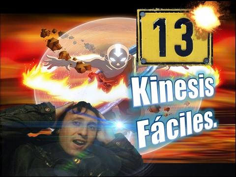 Las 13 kinesis más fáciles para empezar.