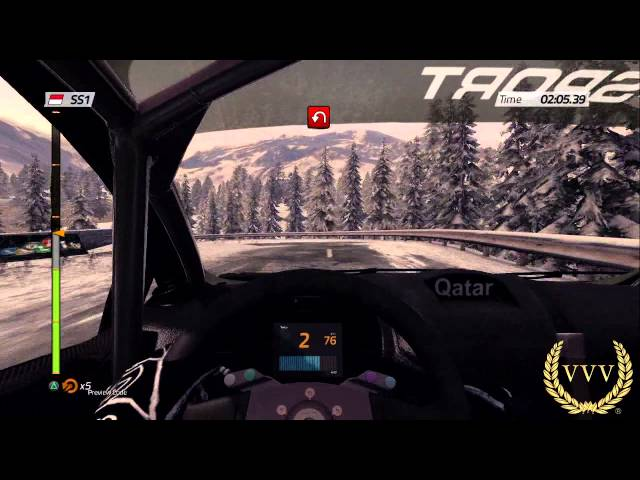 WRC 4 Monte Carlo - Dusk - No Comment Run