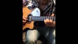 Zacarias ferreira sobran las palabras cover guitar