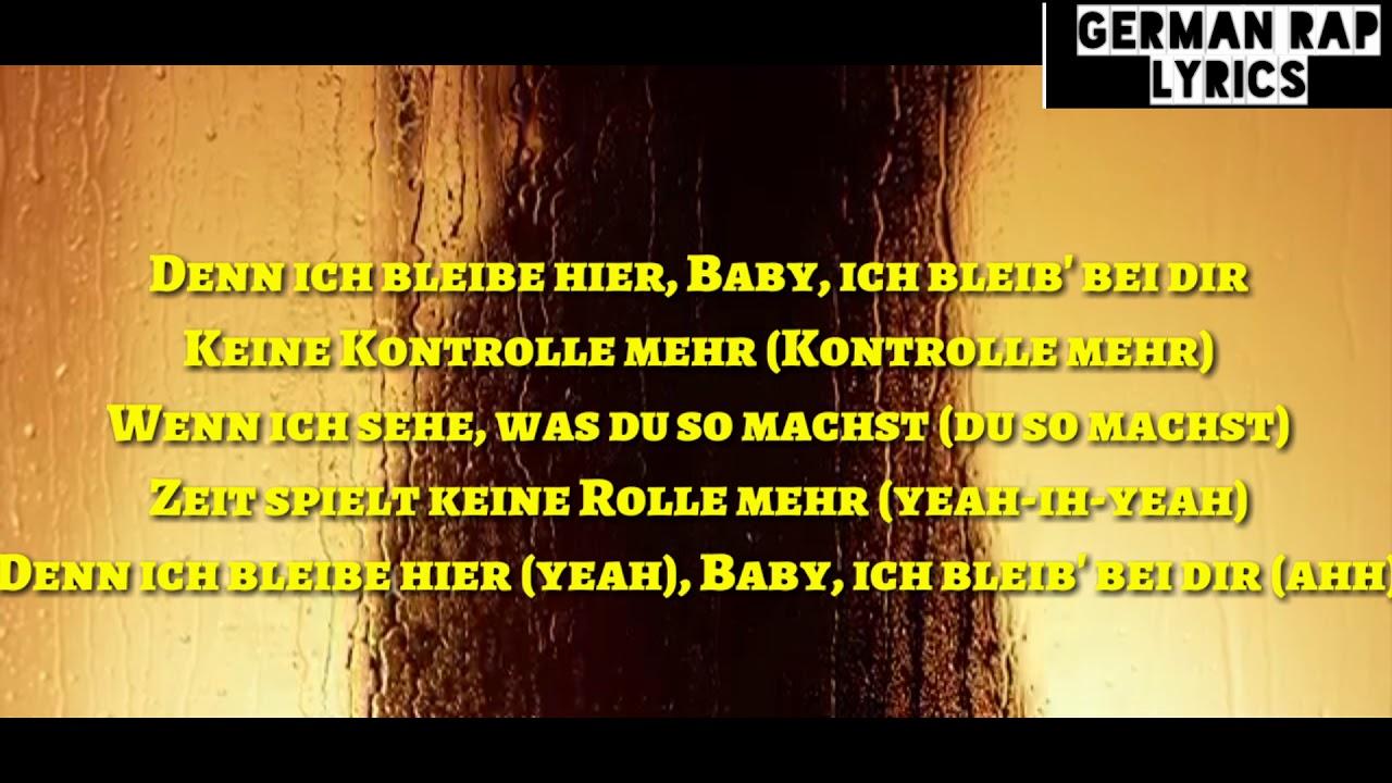 SAMY - KONTROLLE (Official HQ Lyrics) (Text) + Download | German Rap Lyrics - YouTube