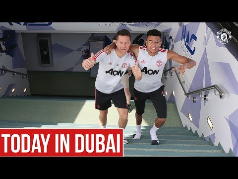 Manchester United | Dubai Training Camp Day Four | Dalot, Matic, Herrera
