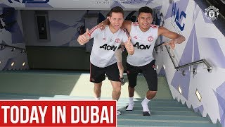 Manchester United | Dubai Training Camp Day Four | Dalot, Matic, Herrera