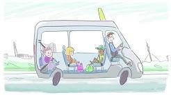 Espoon kaupungin koulukuljetukset - School transportation in Espoo