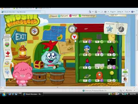 Moshi Monsters- The Port and Gift Island!