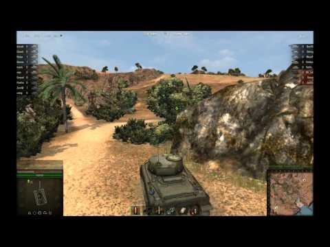 "World of Tanks - Historic Battle  - Event No.29  ""Battle of El Guettar"" Round 3  "