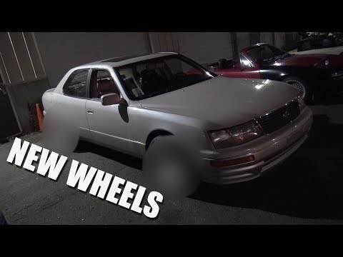 CHOW'S LS400 GETS NEW WHEELS !!!