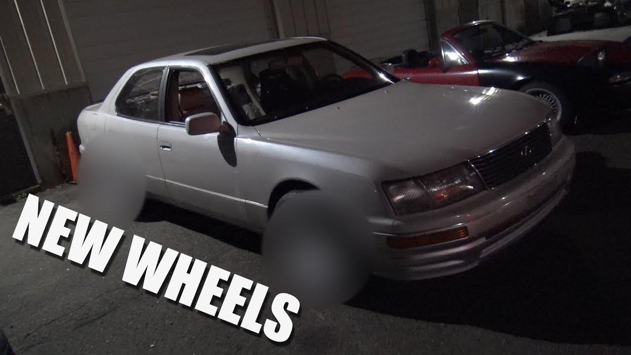 medium resolution of chow s ls400 gets new wheels