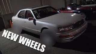 chow s ls400 gets new wheels
