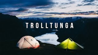 CAMPING ON THE EDGE! -  Trolltunga Vlog