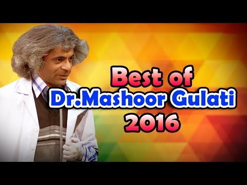 Funny Celebrity moments with Dr.Mashoor Gulati | The Kapil Sharma Show |  Best Indian Comedy |  HD