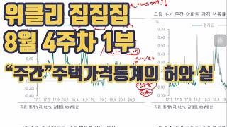 주간 주택가격 통계의 허와 실? 위클리 가격동향 8월4…