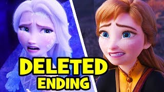 FROZEN 2's DELETED ENDING: How Disney Almost Killed Elsa & Destroyed Arendelle Castle
