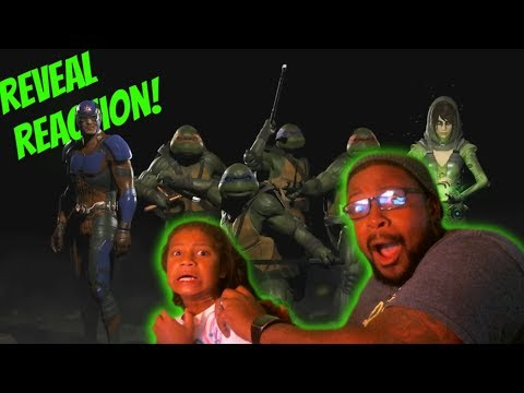 Thumbnail: Injustice 2 Fighter Pack 3 Revealed REACTION!!! (EPIC TMNT, ATOM & ENCHANTRESS REACTION)