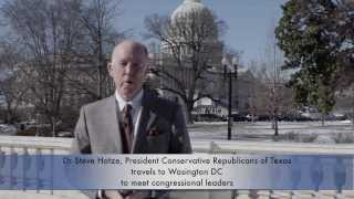 Dr Steve Hotze visits Washington DC to meet congressional leaders