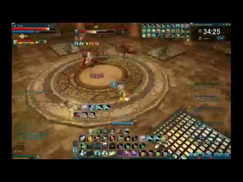 Project Icarus Online - Tower of Challenge - 21F Priest Gameplay