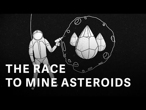 Asteroid mining might be the key to future space travel