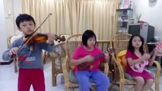 Gong Xi Gong Xi violin ukulele