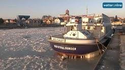 wetteronline.de: Ostseeküste im Eis erstarrt (07.01.2016)