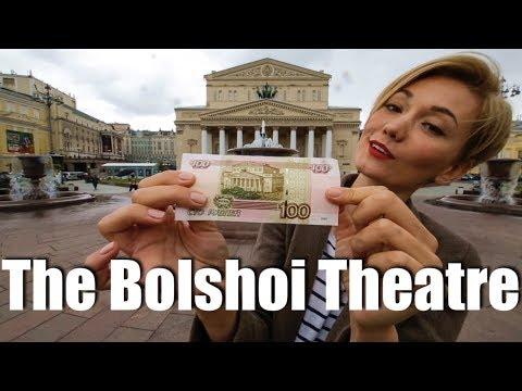 The Bolshoi and Theatre square tour (Moscow Russia)