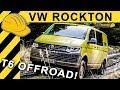 VW ROCKTON T6 OFFROAD TEST | Was taugt der Bulli im Gelände? 4Motion Transporter Fahrbericht