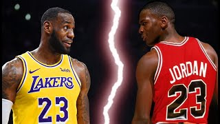 Michael Jordan vs LeBron James - Who is the GOAT?