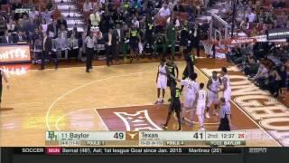 Baylor vs Texas | 2016-17 Big 12 Men's Basketball Highlights