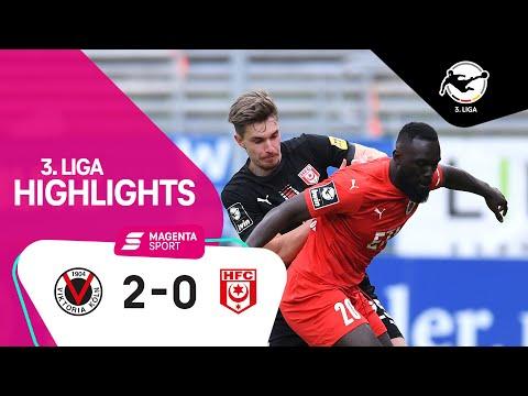 FC Viktoria Köln - Hallescher FC | 32. Spieltag, 2020/2021 | MAGENTA SPORT