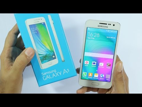 Samsung Galaxy A3 Unboxing & Hands On Overview