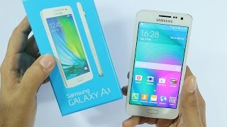 Samsung Galaxy A3 Unboxing amp Hands On Overview