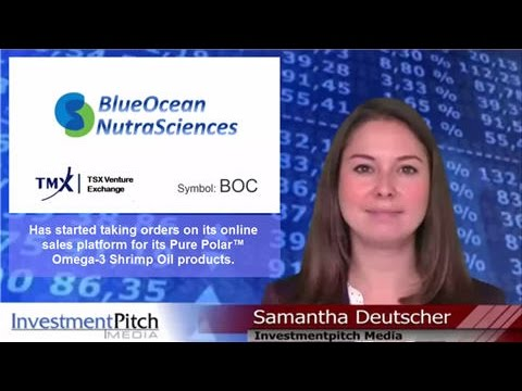 BlueOcean (TSXV: BOC) taking orders for Pure Polar™ Omega-3 Shrimp Oil products