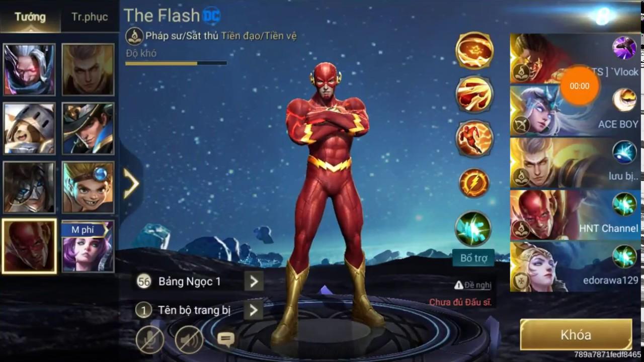 The Flash Tướng mới Siêu anh hùng HNTChoi game nhanh hơn tia chớp đã về HNT Channel New 136