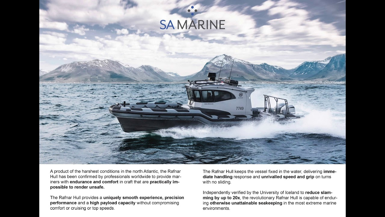 Our Brochure from SA Marine, another brand of our parent company Saor Alba Holdings Ltd.
