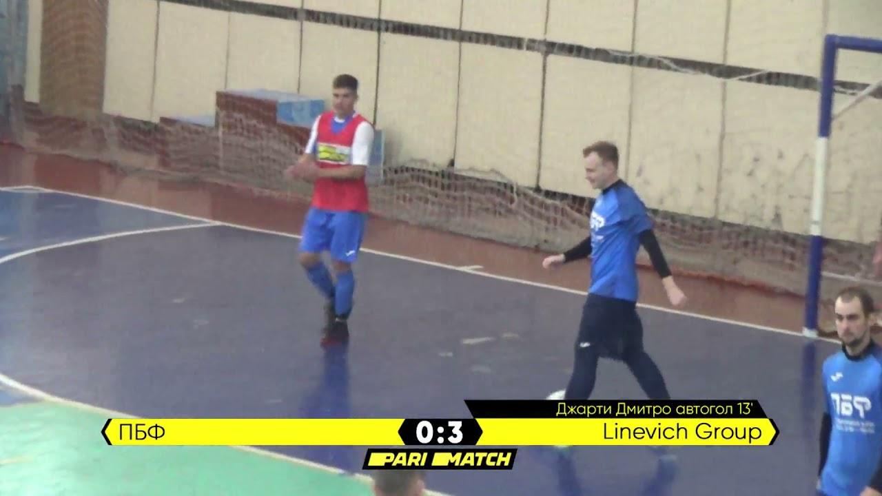 Огляд матчу   ПБФ 3 : 4 Linevich Group