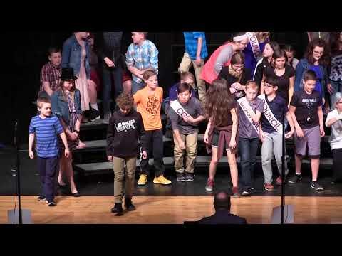 Ft. Jennings 6th Grade Musical 4-16-18