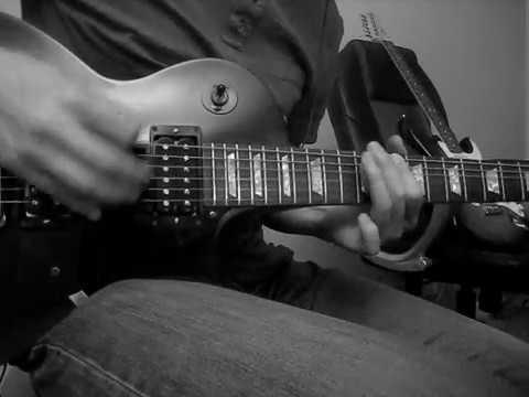 Richards/Crane - Black & White guitar solo cover (Dave Fortman)