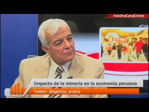 Impacto de la minería en la economía peruana