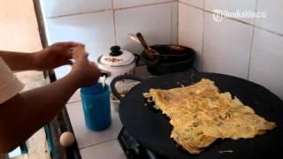 VIDEO Nikmati Kelezatan Martabak Kari Loa Tebu
