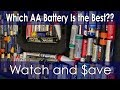 Which AA Battery is the Best? Can Duracell Beat Energizer? Watch and $ave!