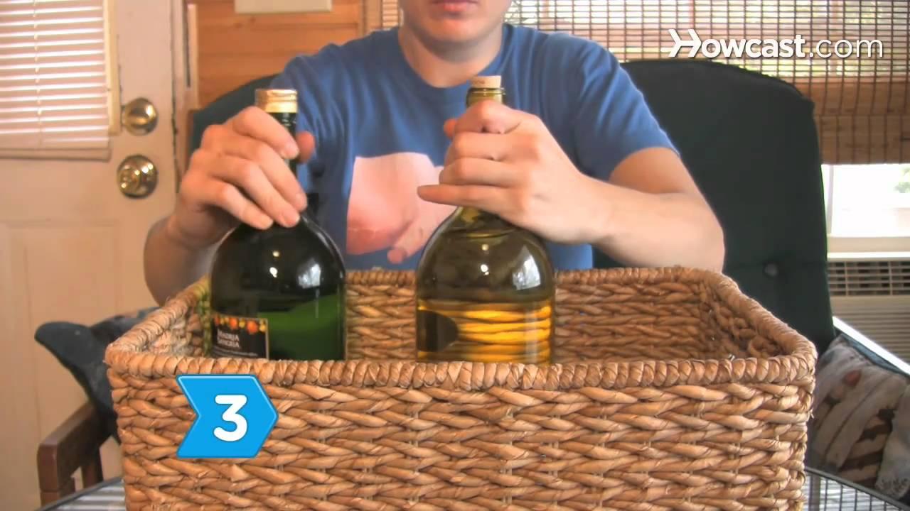 How to make christmas food baskets youtube for How to make christmas food baskets