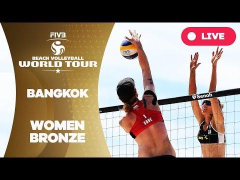 Bangkok - 2018 FIVB Beach Volleyball World Tour - Women Bronze Medal Match