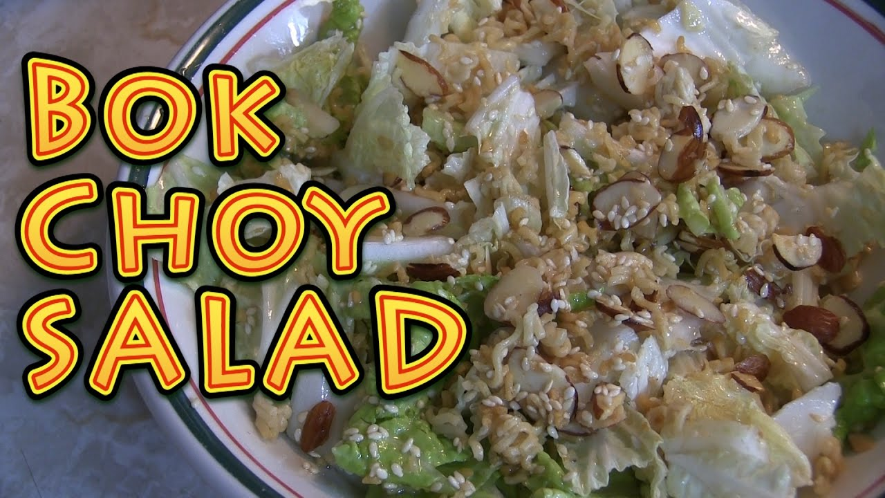 Bok Choy Salad Recipe