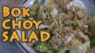 bok choy salad easy and delicious