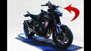 CHE STRANA MODIFICA! - TEST YAMAHA MT 09 2018 - TEST RIDE