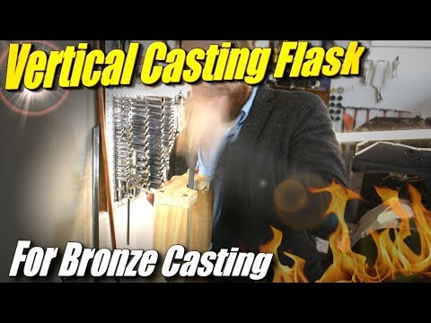 How to Make a Vertical Metal Casting Flask for Bronze Casting